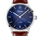 Circula Heritage Hand-Wound Blue Watch