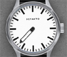 Defacto Eins White Dial Automatic Watch