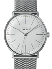 Junghans Max Bill Silver Dial Hand Winding Watch 027/3004.44