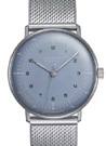 Junghans Max Bill Ice Blue Dial Hand Winding Watch 027/3600.44