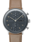 Junghans Max Bill Grey Dial Chronograph Watch 027/4501.01