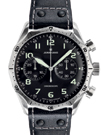 Junghans Meister Pilot Black Dial Chronograph Watch 027/3590.00