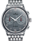 Junghans Meister Driver Chronoscope Grey Dial Watch 027/3686.44