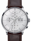 Junghans Meister Chronoscope Matte Silver Dial Day Date Watch 027/4120.01