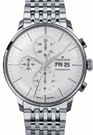 Junghans Meister Chronoscope Matte Silver Dial Day Date Watch 027/4121.45