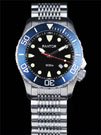 Pantor Seahorse Blue Bezel Automatic Dive Watch