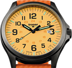 Traser P67 Officer Pro GunMetal Orange Watch