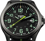 Traser P67 Officer Pro GunMetal Black Lime Watch
