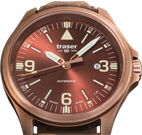 Traser P67 Officer Pro Automatic Bronze Brown Watch
