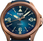 Traser P67 Officer Pro Automatic Bronze Blue Watch