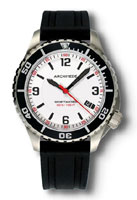 Archimede SportTaucher White Dial Automatic Dive Watch UAUA8974-TS-A3.2