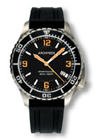Archimede SportTaucher Black/Orange Dial Automatic Dive Watch UA8974-TS-A4.2