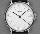 Defakto Vektor White Dial Automatic Watch