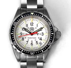 Special Edition Medium Diver's Quartz with White Dial - Arctic MSAR (Medium Search & Rescue - 36mm)