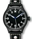Archimede 42 H Black Case Automatic Pilot Watch UA7929-A7.1SW