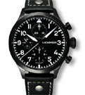 Archimede Black Automatic Pilot Chronograph Watch UA7939-C1.1SW