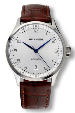 Archimede Klassic Silver Dial Automatic Dress Watch UA7969-A3.4