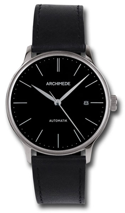 Archimede 1950'S Black Automatic Watch UA8069-A2.1