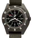 Marathon USMC Tritium Quartz Watch with Date - Green