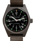Marathon General Purpose Quartz Date Green Tritium Watch