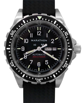 Marathon JDD Jumbo  Automatic Day/Date Tritium Dive Watch