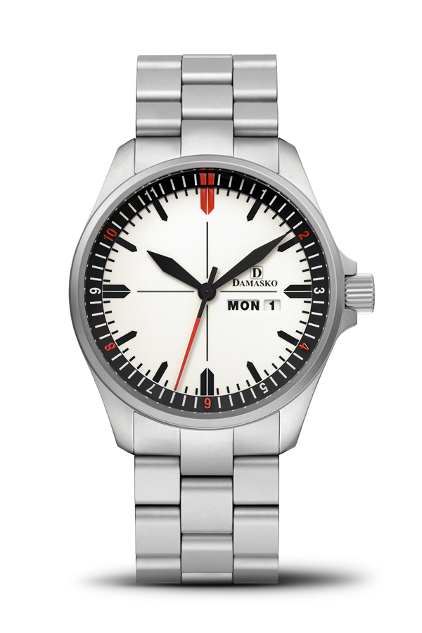 Damasko da353 automatic watch with ice hardened bracelet damasko watches damaskoda353b for Damasko watches