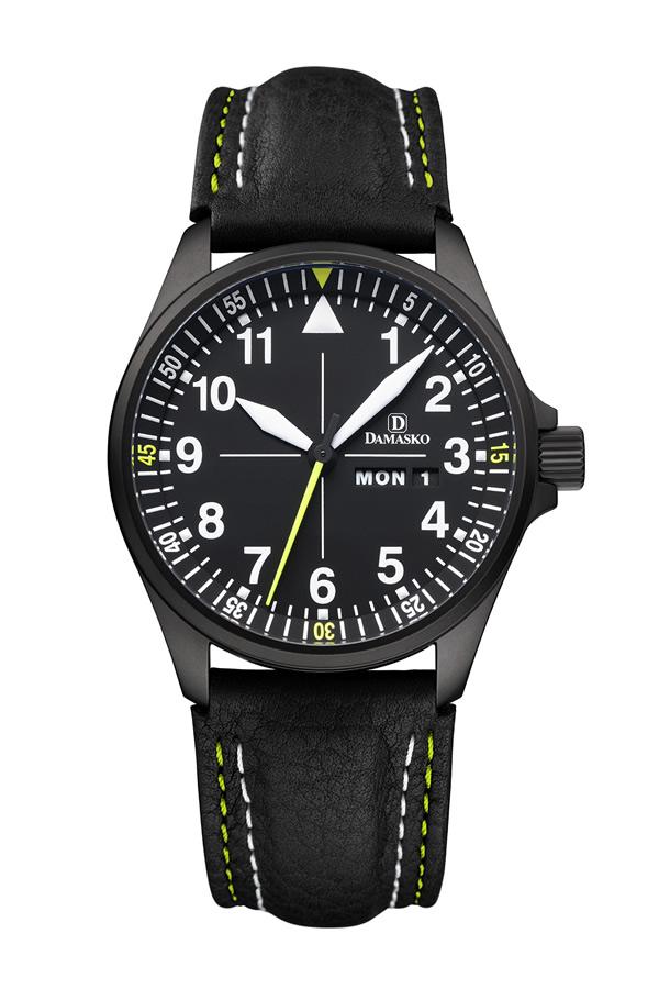 Damasko da363 black automatic watch damasko watches damaskoda363black for Damasko watches