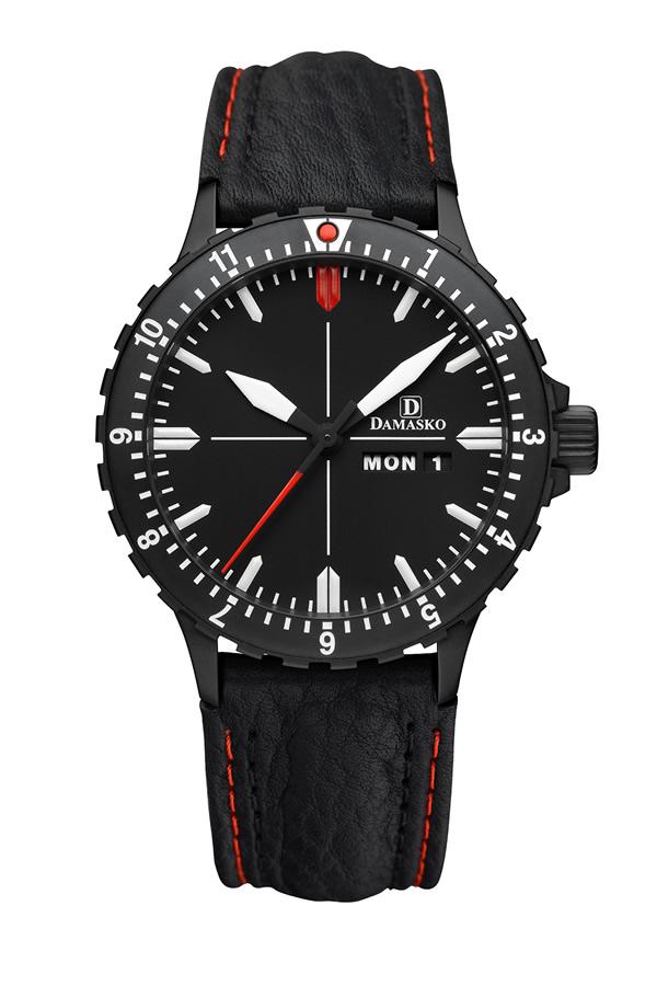 Damasko da44 black automatic watch damasko watches damaskoda44black for Damasko watches