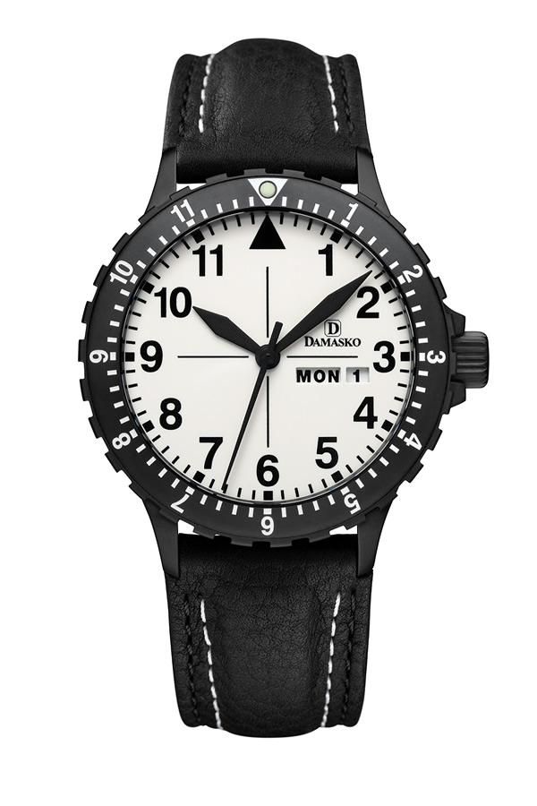 Damasko da47 black automatic watch damasko watches da47black for Damasko watches