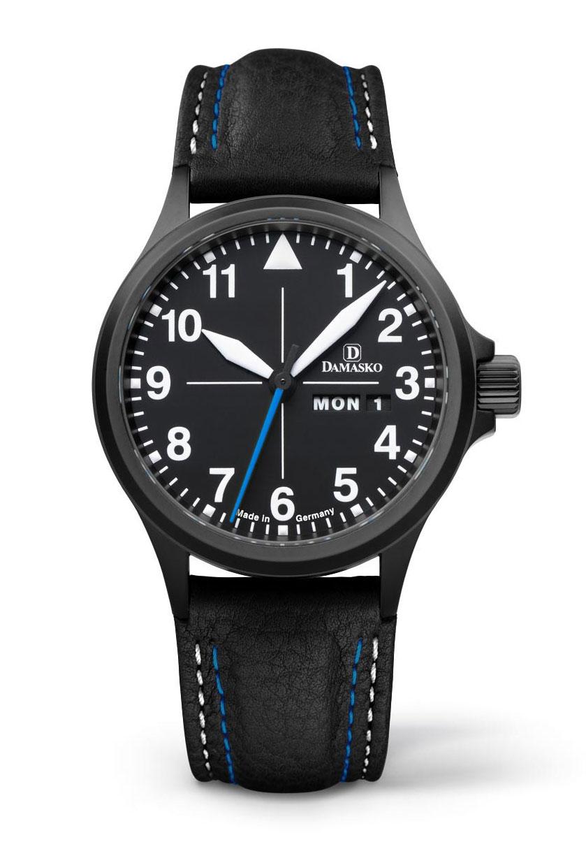 damasko da38 black automatic damasko watches