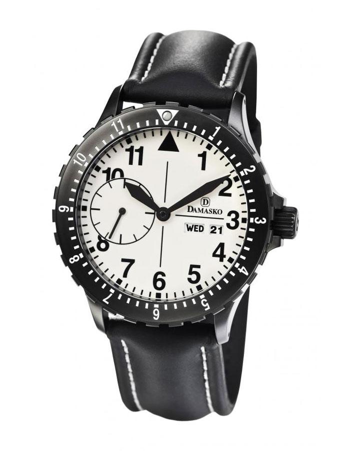 Damasko dk15 black automatic watch damasko watches damasko dk15 black for Damasko watches