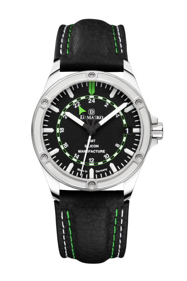 Damasko dk200 gmt dual time automatic watch damasko watches damasko dk200 for Damasko watches