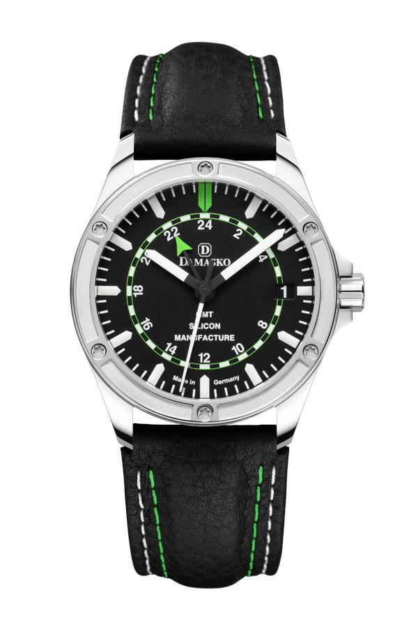 damasko dk200 self winding gmt damasko watches