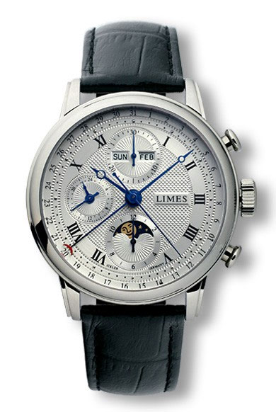 Limes Pharo Full Calendar Moonphase Chronograph Watch ...