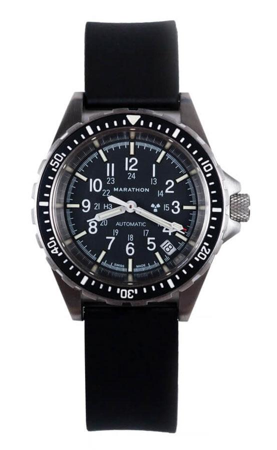 Marathon gsar medium automatic tritium dive watch 194026 marathon watches marathon ww194026 for Tritium dive watches