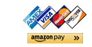 Visa, Mastercard, Amex, Discover and Amazon Pay accepted